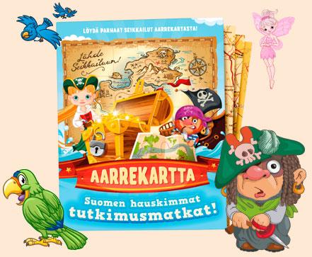 Aarrekartta - Suomen hauskimmat tutkimusmatkat