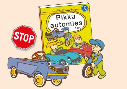 Ellan ja Veikon tutkimusmatkat - Pikku automies lastenkirja