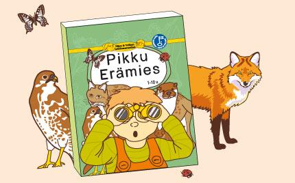 Ellan ja Veikon tutkimusmatkat - Pikku Erämies lastenkirja