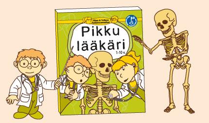 Ellan ja Veikon tutkimusmatkat - Pikku lääkäri lastenkirja