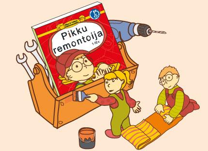 Ellan ja Veikon tutkimusmatkat - Pikku remontoija lastenkirja