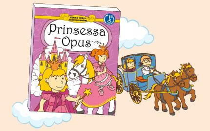 Ellan ja Veikon tutkimusmatkat - Prinsessa Opus lastenkirja